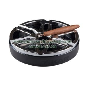 xikar-burnout-ashtray-black-chrome